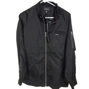 NWT Members Only Jacket Full Zipper Classic Bomber